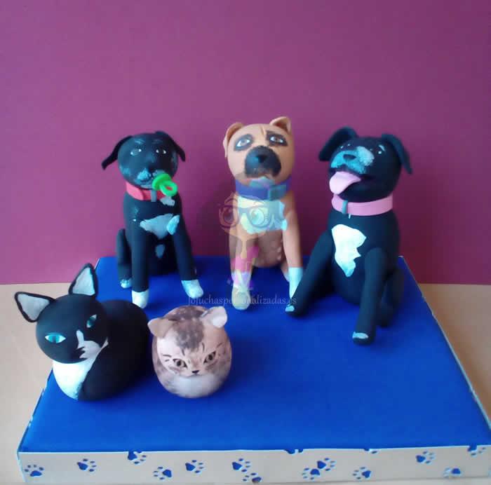 Fofucha Perritos y Gatitos